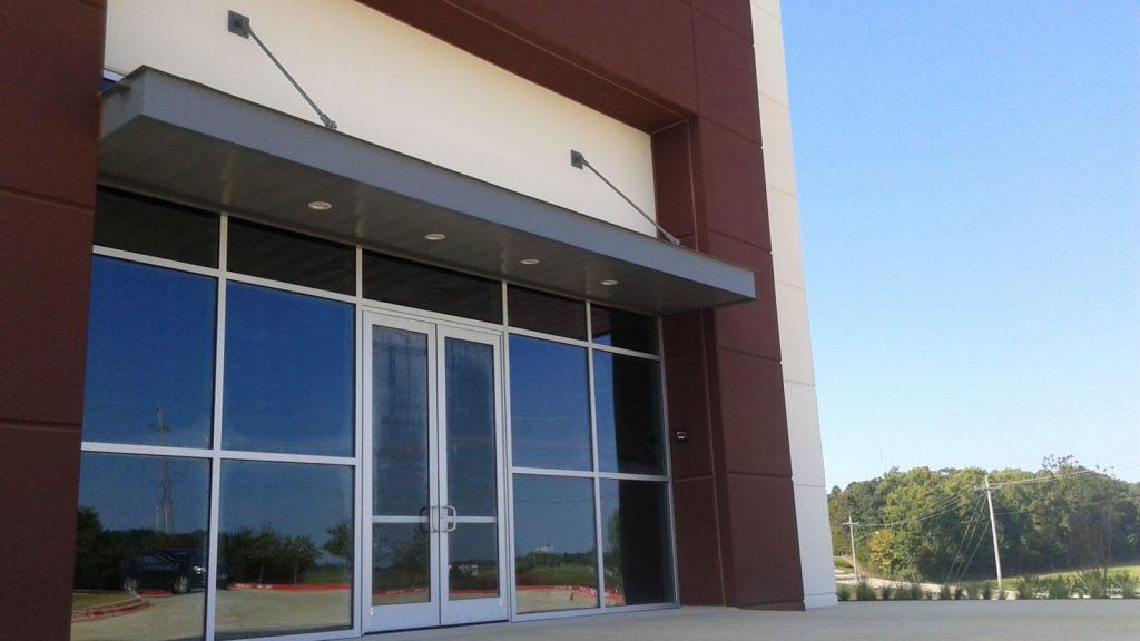 Mount Pleasant spec building entrance